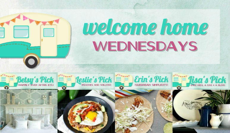 Welcome Home Wednesdays Link Party #100