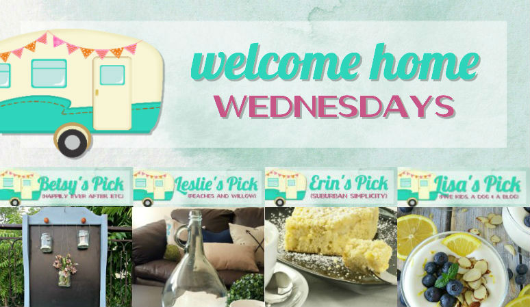 Welcome Home Wednesdays Link Party #99