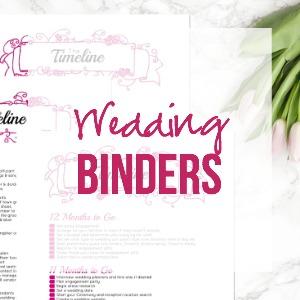 Wedding Binders & Extra Printables!