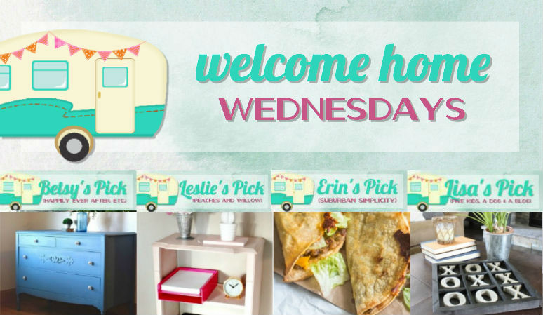 Welcome Home Wednesdays Link Party #98