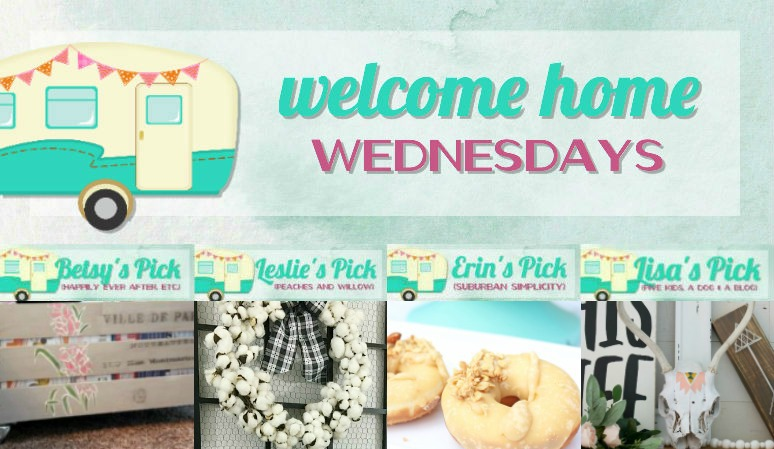 Welcome Home Wednesdays Link Party #105