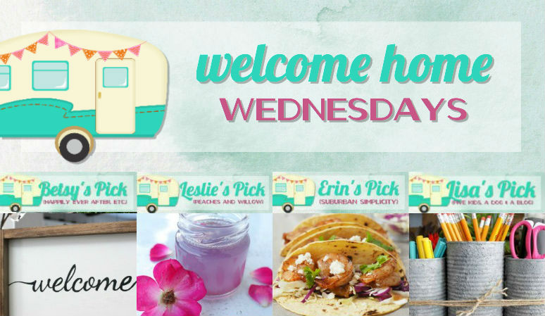Welcome Home Wednesdays Link Party #102