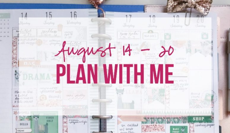 Plan With Me: August 14 – 20