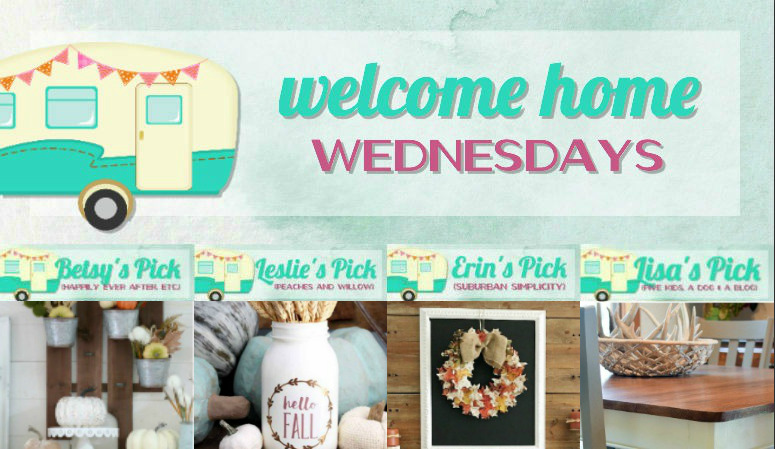 Welcome Home Wednesdays Link Party #108