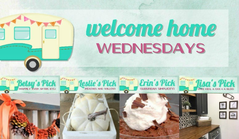 Welcome Home Wednesdays Link Party #107