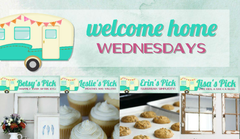 Welcome Home Wednesdays Link Party #109