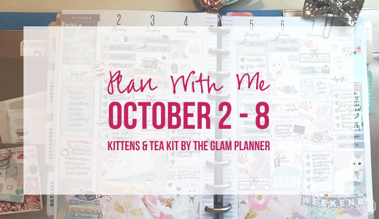 Plan with Me October 2 – 8