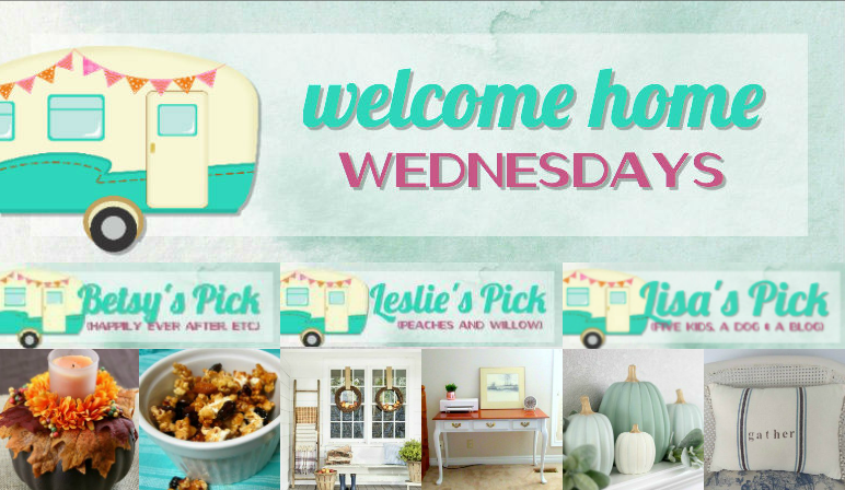 Welcome Home Wednesdays Link Party #110