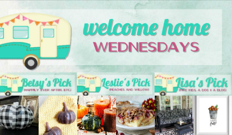 Welcome Home Wednesdays Link Party #112