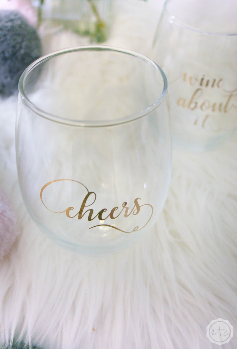 Cricut Cut Files For Wine Glasses Happily Ever After Etc