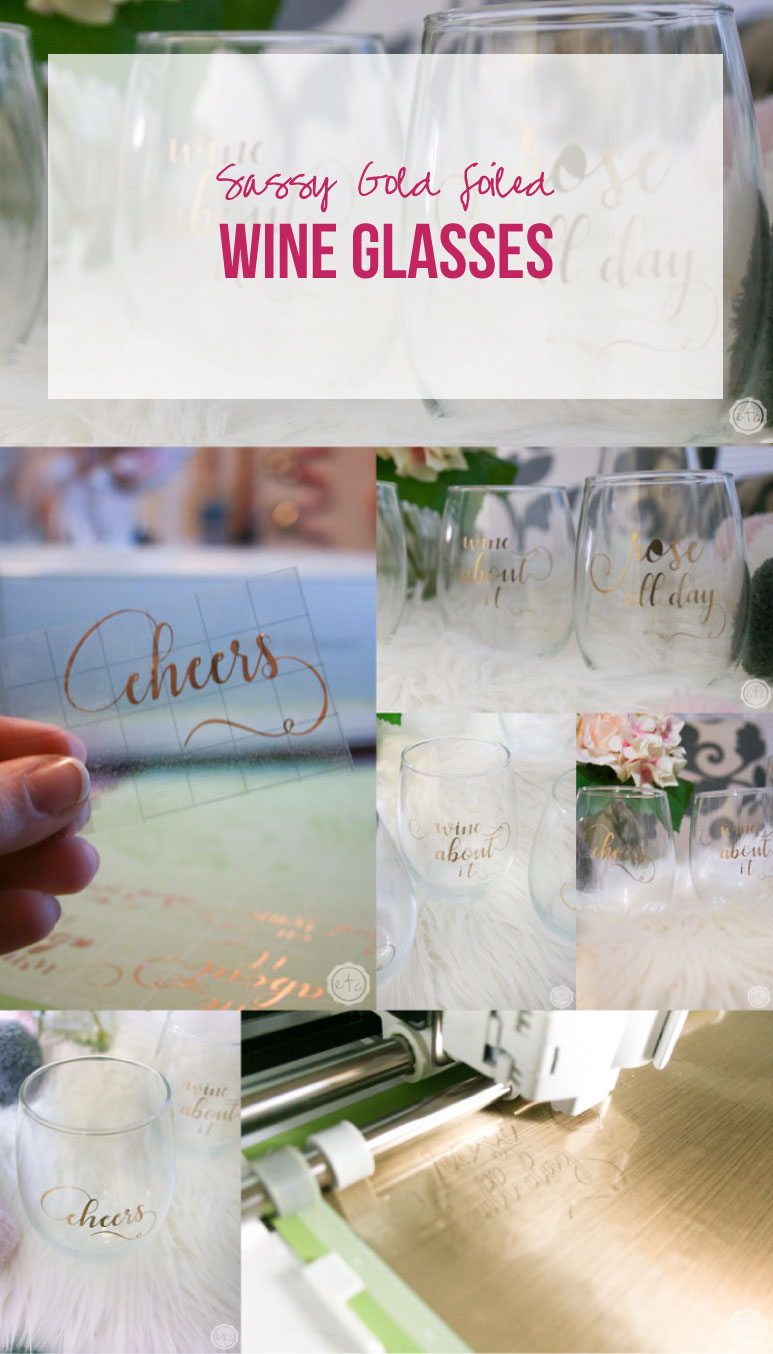 Quick And Easy Holiday Gift Idea Sassy Diy Wine Glasses Happily Ever After Etc