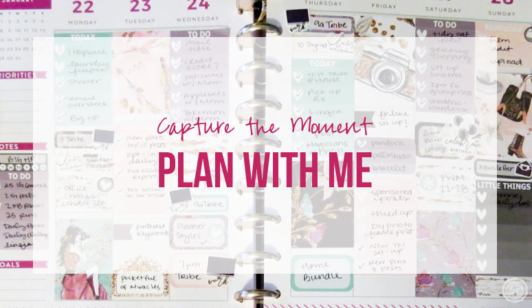 Capture the Moment Plan with Me featuring BrandysShop