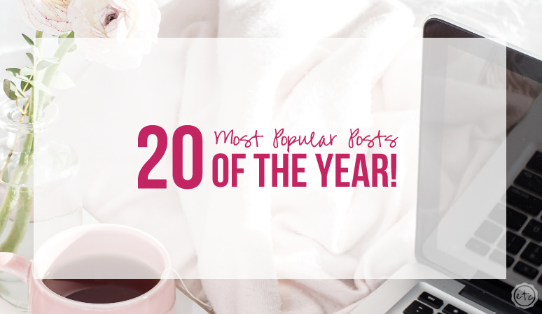 The 20 Most Popular Posts of the Year