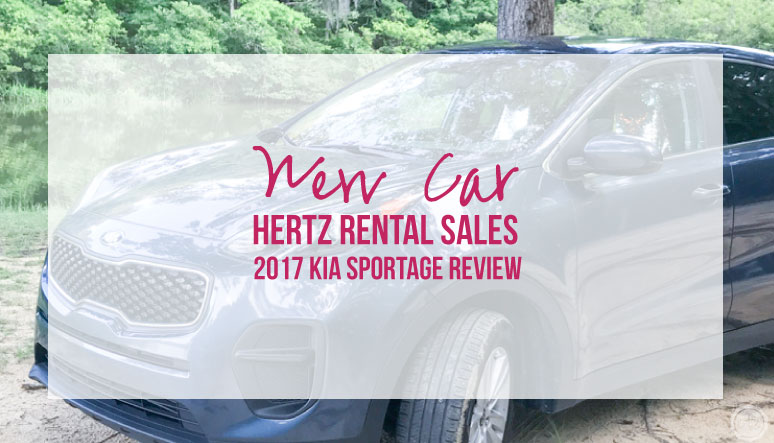 New Car from Hertz Rental Sales 2017 Kia Sportage Review