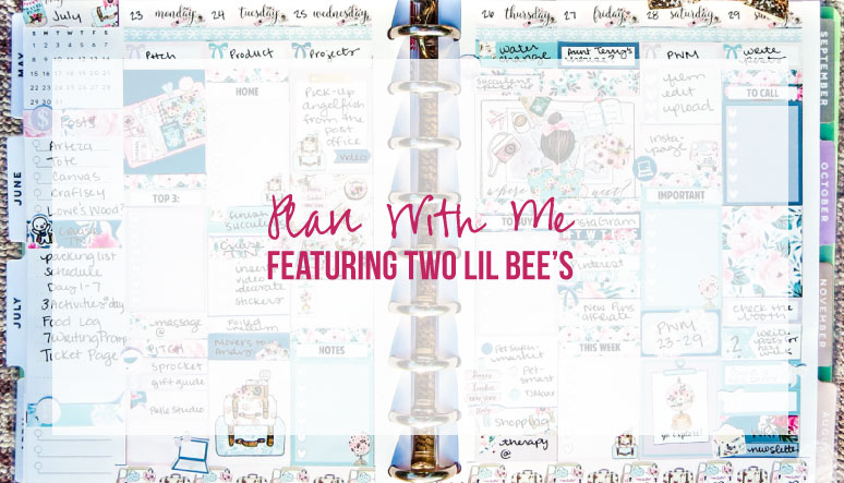 Plan With Me Featuring Two Lil Bee's