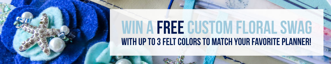 Win a FREE Felt Floral Swag