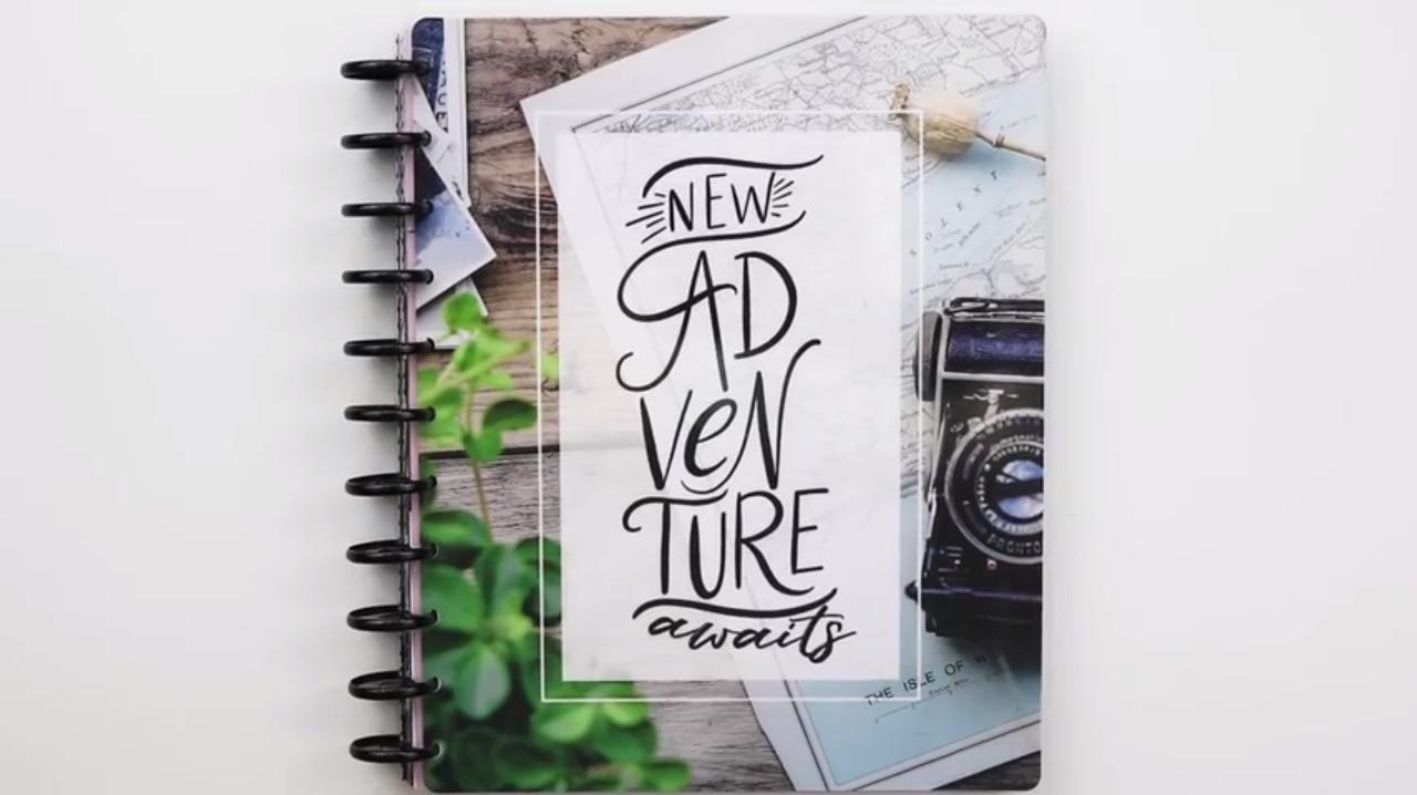 2019 Happy Planner: New Adventures Cover