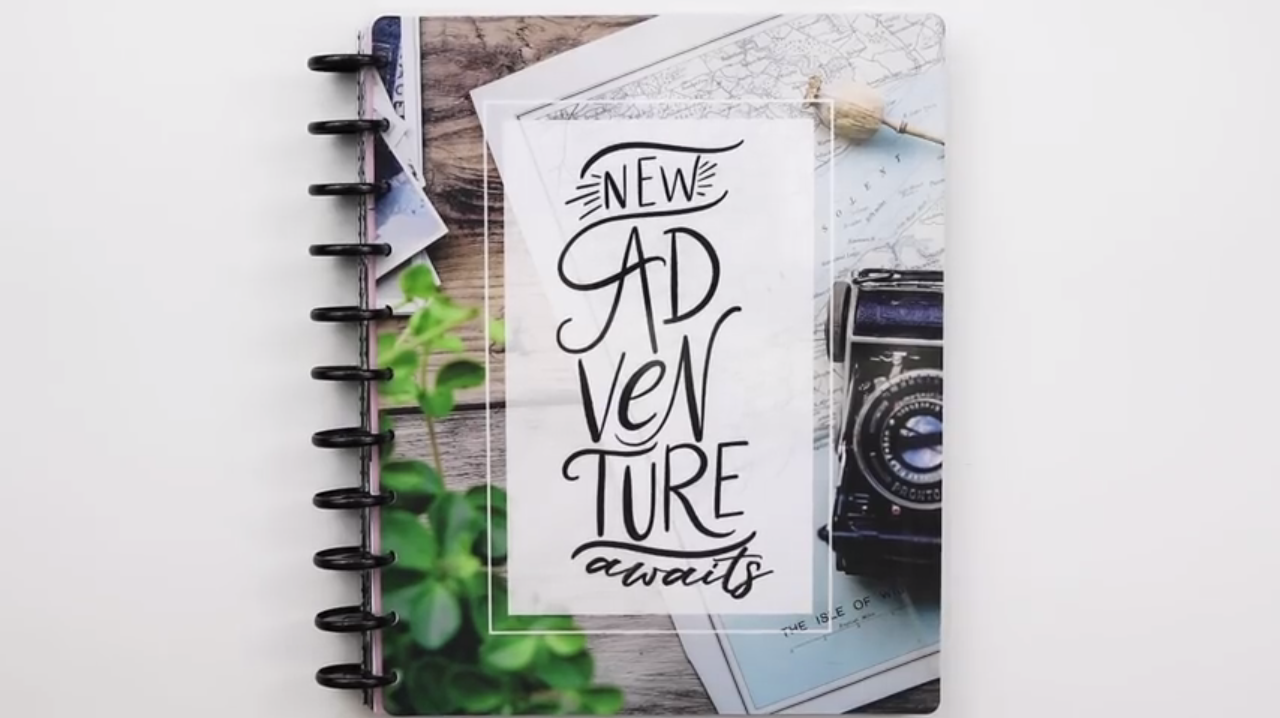 2019 Happy Planner: New Adventures Cover
