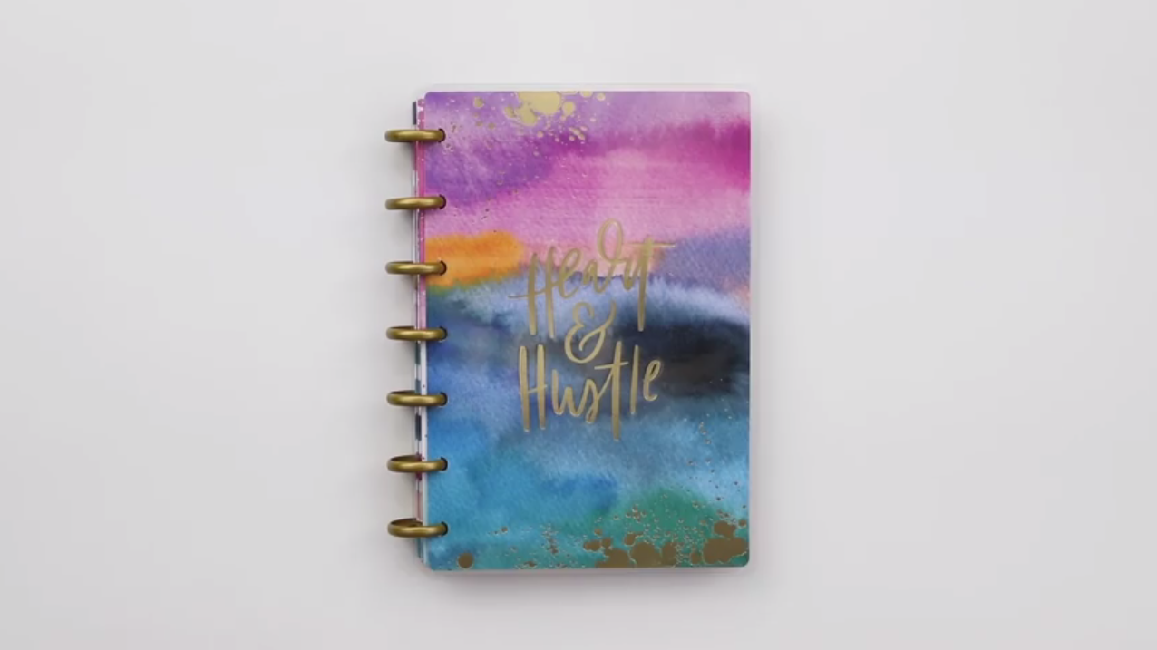 The Happy Planner 2019: Watercolor Abstract Mini Cover