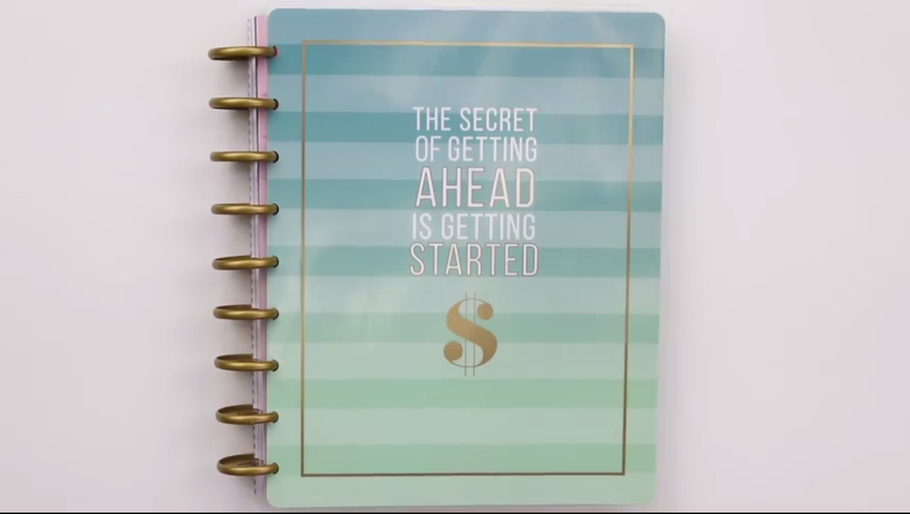 Happy Planner 2019: Budget Cover