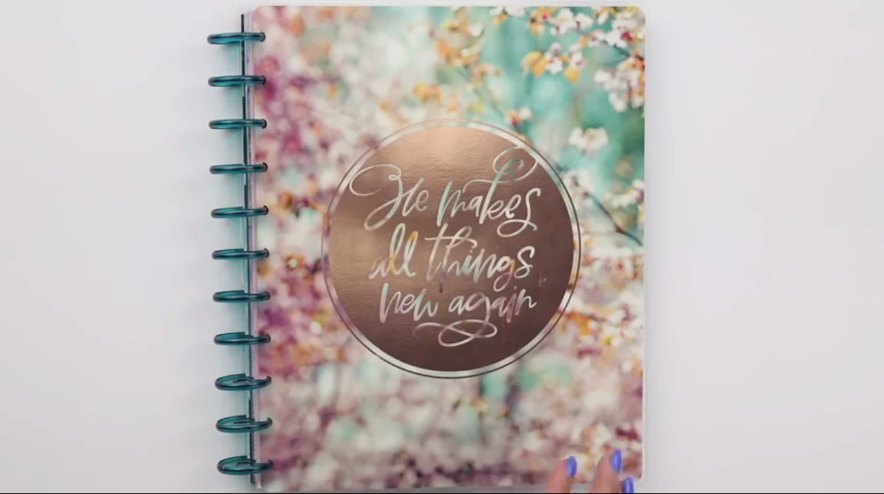 Happy Planner 2019: Beauty in Faith Cover