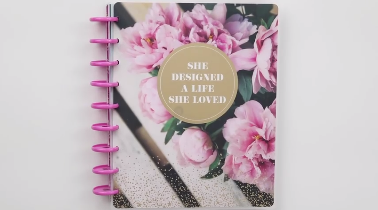 Happy Planner 2019: Fresh Romance cover