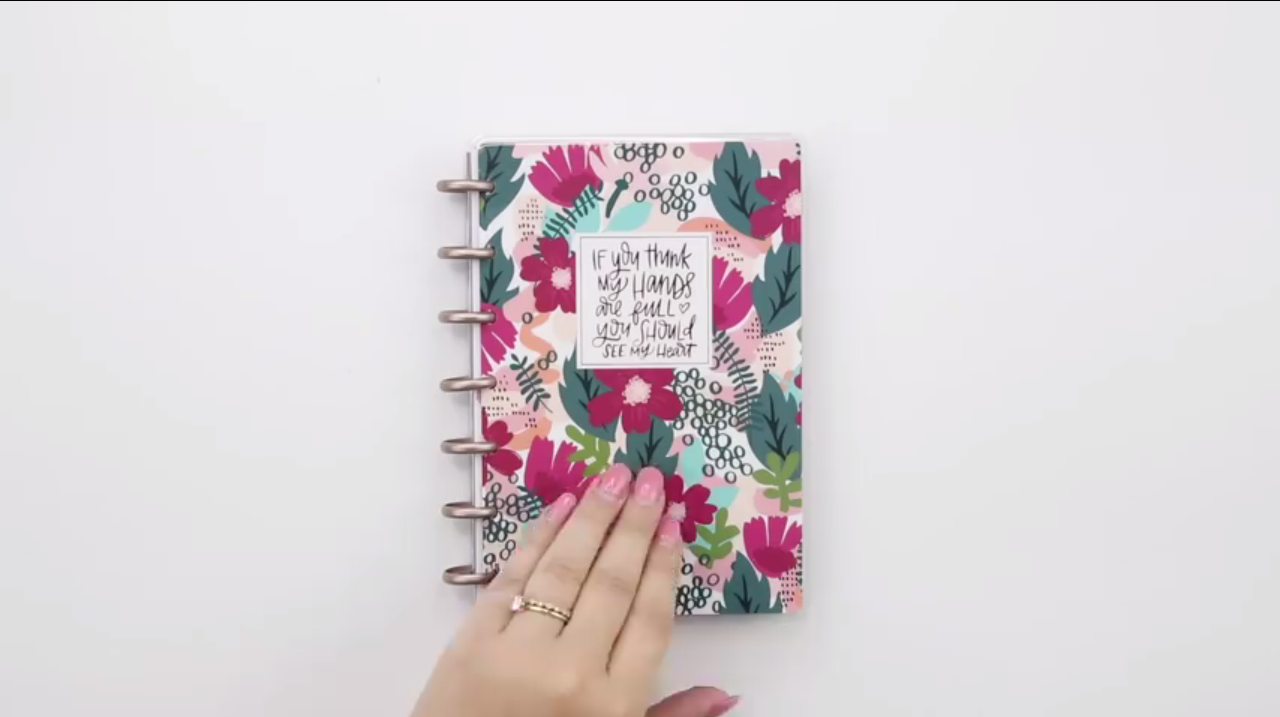 2019 Happy Planner: Forget Me Not Mini Cover