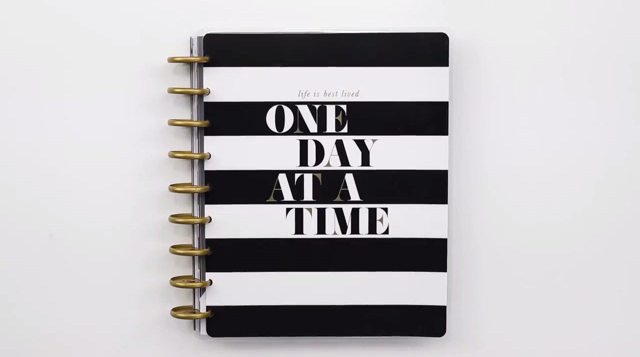 2019 Happy Planner: Lived One Day at a Time Cover