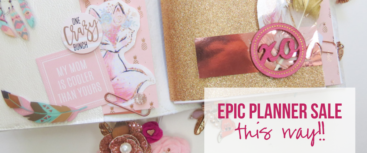 Epic Planner Sale This Way!