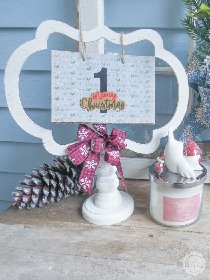 Quick and Easy DIY Christmas Countdown