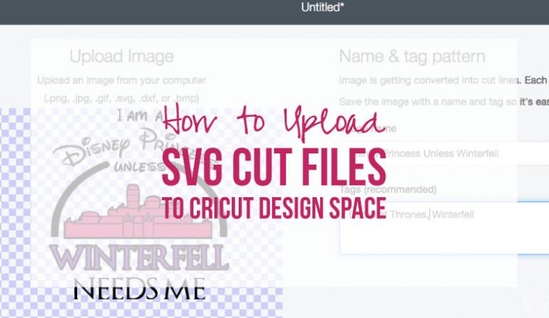 How to Upload SVG Cut Files to Cricut Design Space