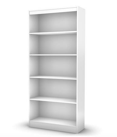 Craft Room Organization Ideas: Standard bookcase