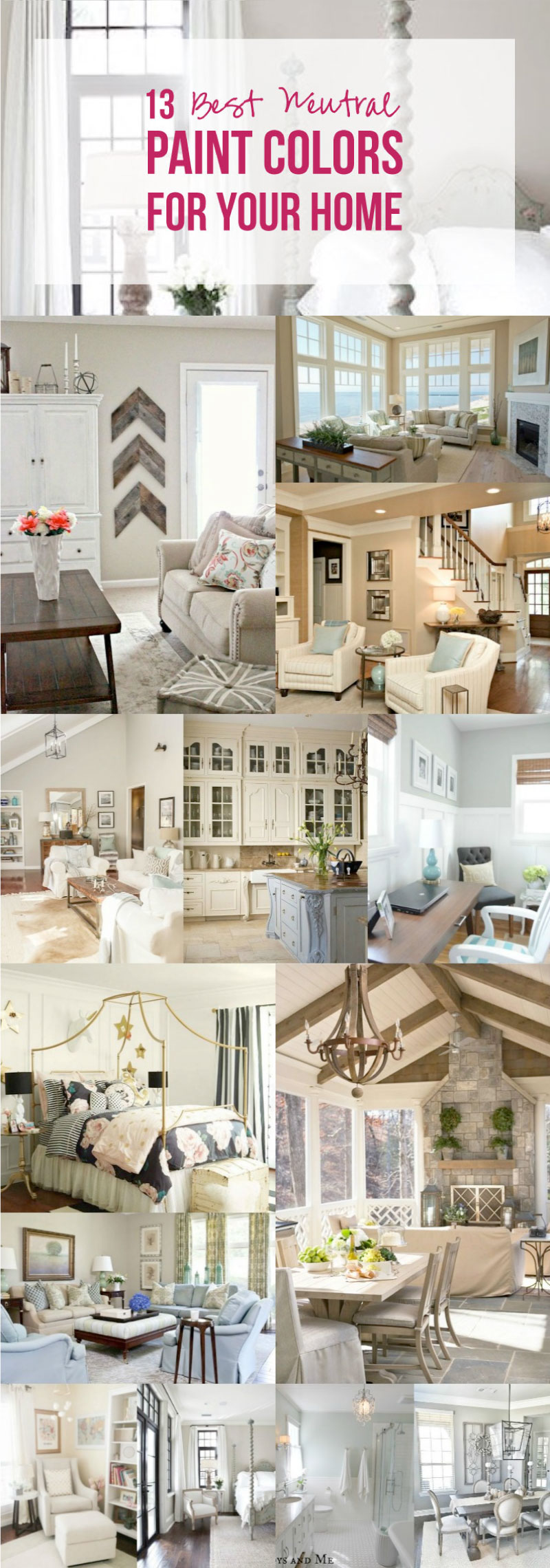 13 Best Neutral Paint Colors For Your Home