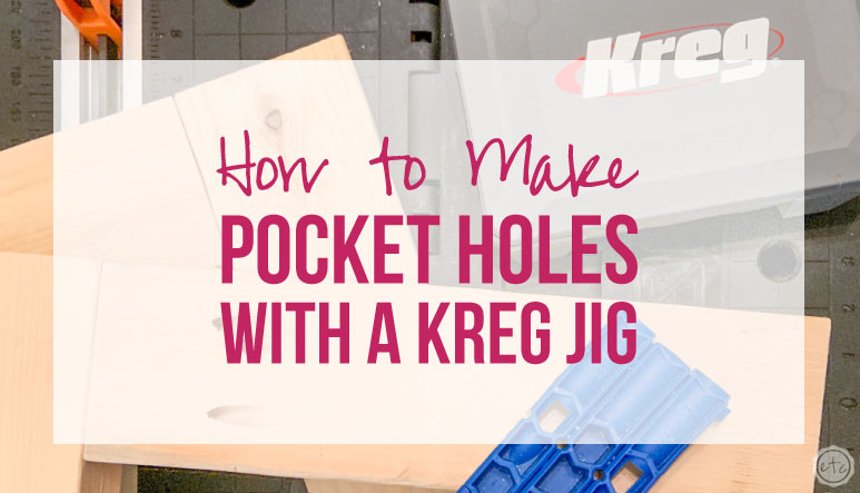 How to use a Kreg Jig to Make Pocket Holes