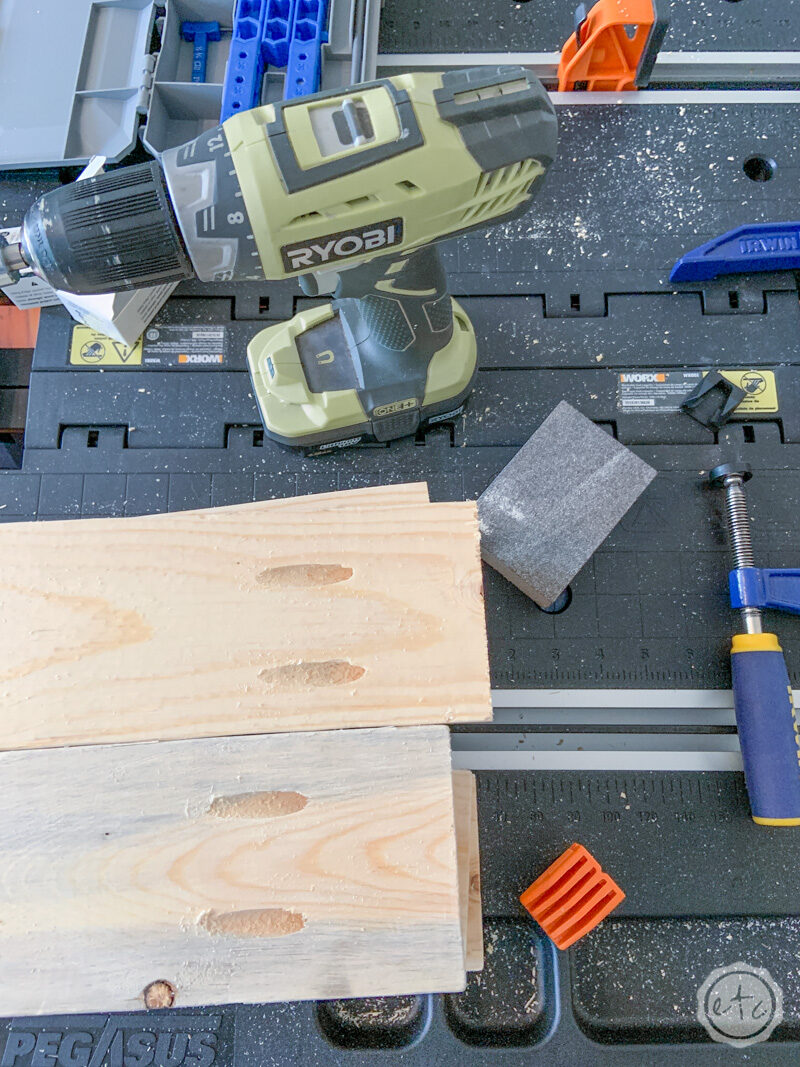 How to use a Kreg Jig to make this pile of beautiful boards with pocket holes