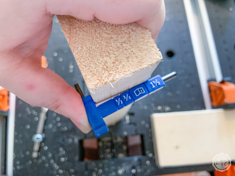 How to measure your piece of wood for perfect kreg jig measurements