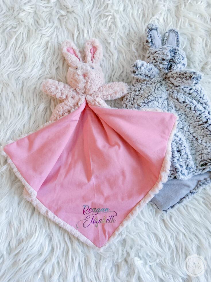 Bunny Lovey with your Cricut