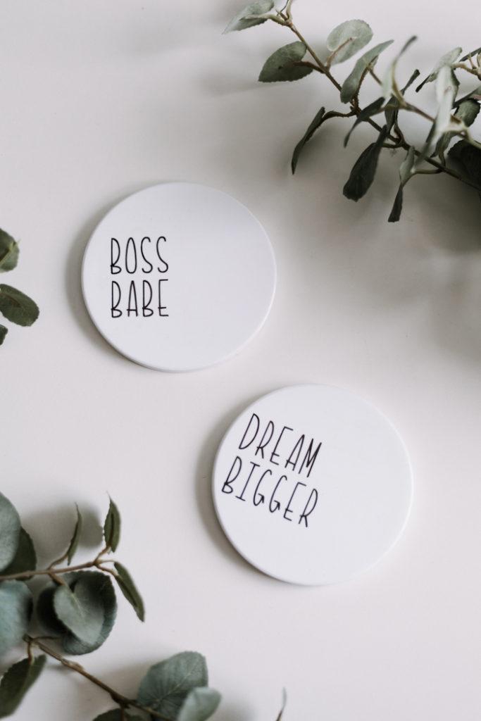 Boss Babe Coasters