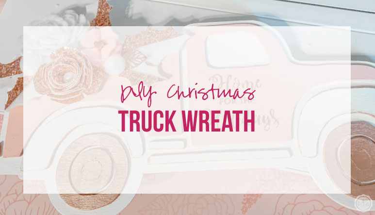 DIY Christmas Truck Wreath