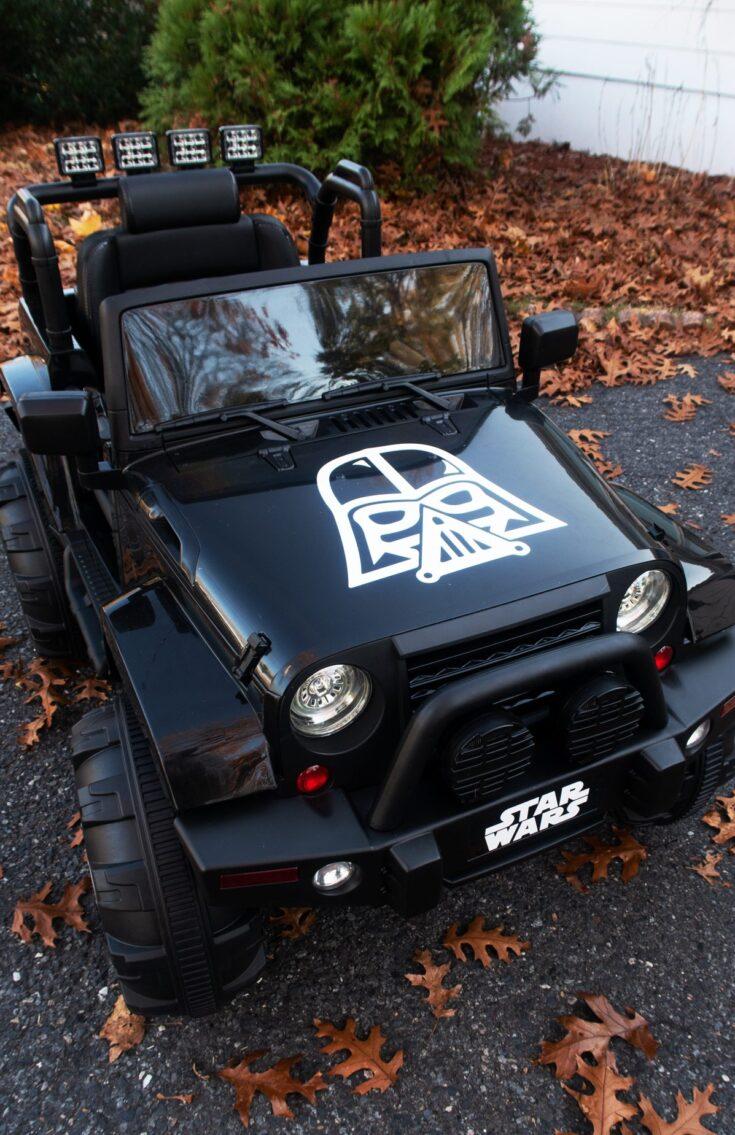 Star Wars Kids Jeep