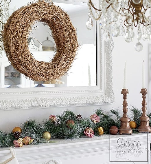 Christmas Mantel Styling Ideas