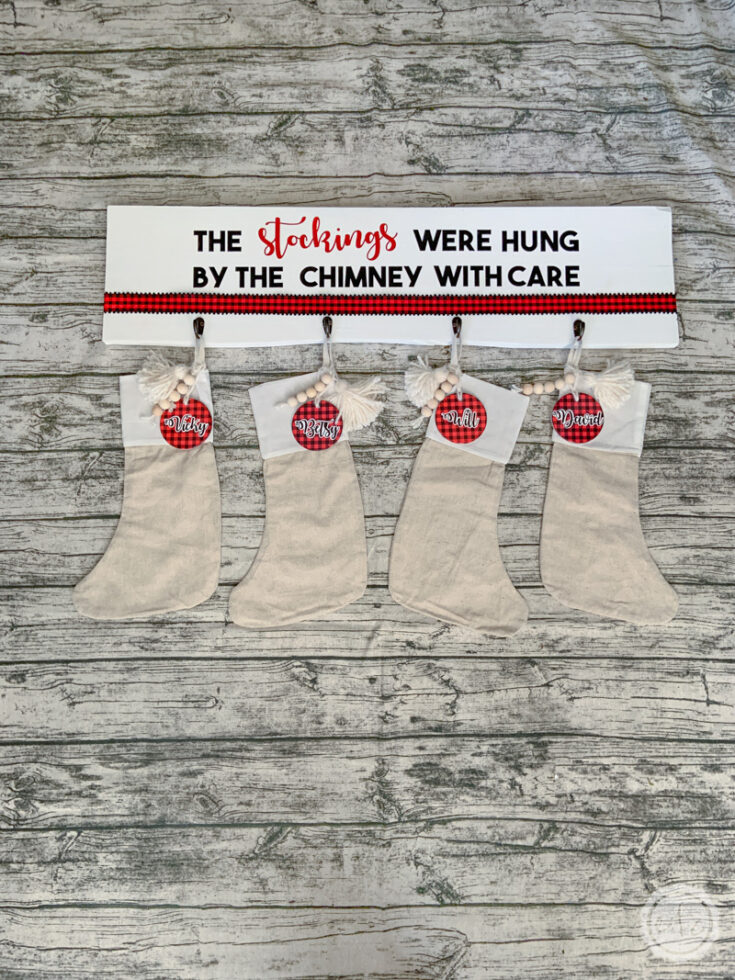 Personalized Christmas Stockings & Tassels