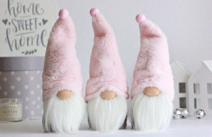 Blush Holiday Gnomes