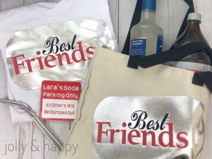 Diet Soda Best Friends Gift