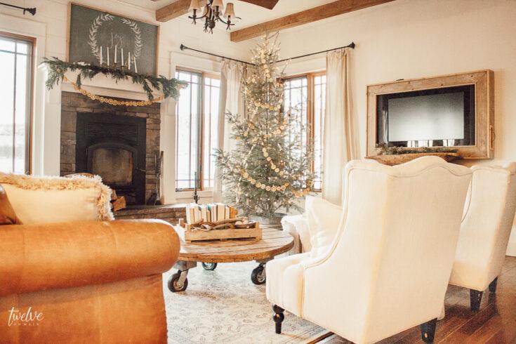 My Scandinavian Christmas Home Tour