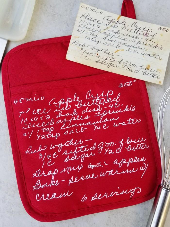 Grandma's Handwriting