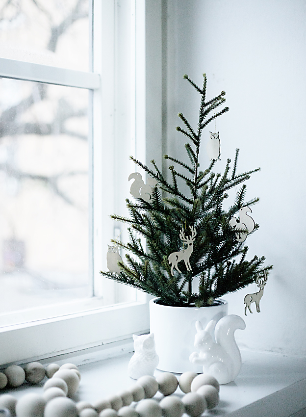Small Woodland Christmas Tree