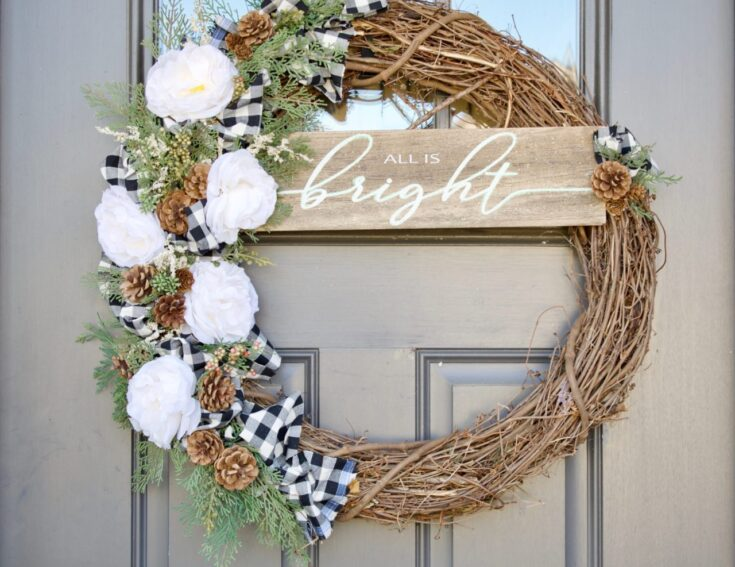 DIY Southern Wreath