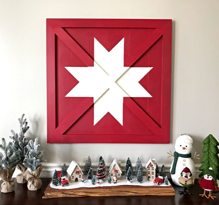 Wooden DIY Barn Star Art