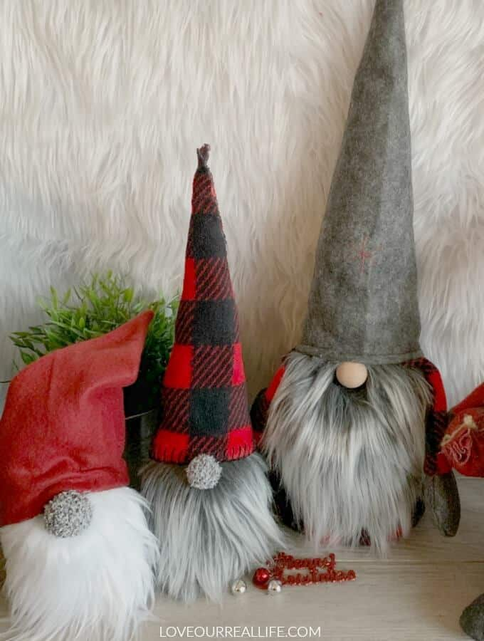 Christmas Gnomes: Sew and No Sew Instructions